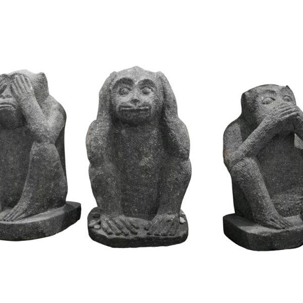 3 Affen Nichts Sehen Nichts Hören Nichts Sagen 30 Cm H
